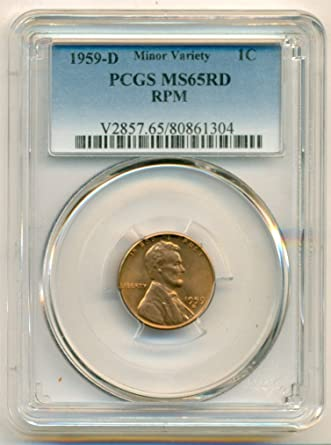1959-D       PCGS    MS66 RED      LINCOLN  1c