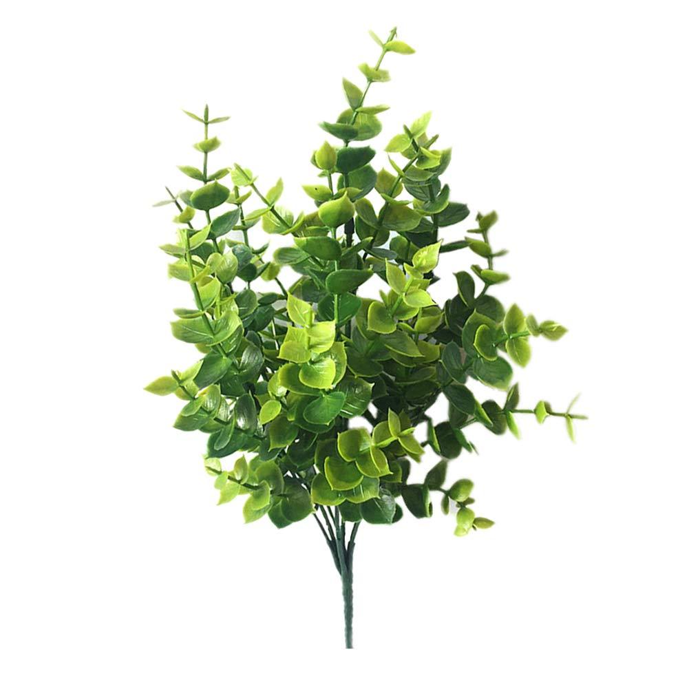 ValianhAgen - Planta Artificial de eucalipto para decoración de jardín, Fiesta, hogar, Boda, día Festivo