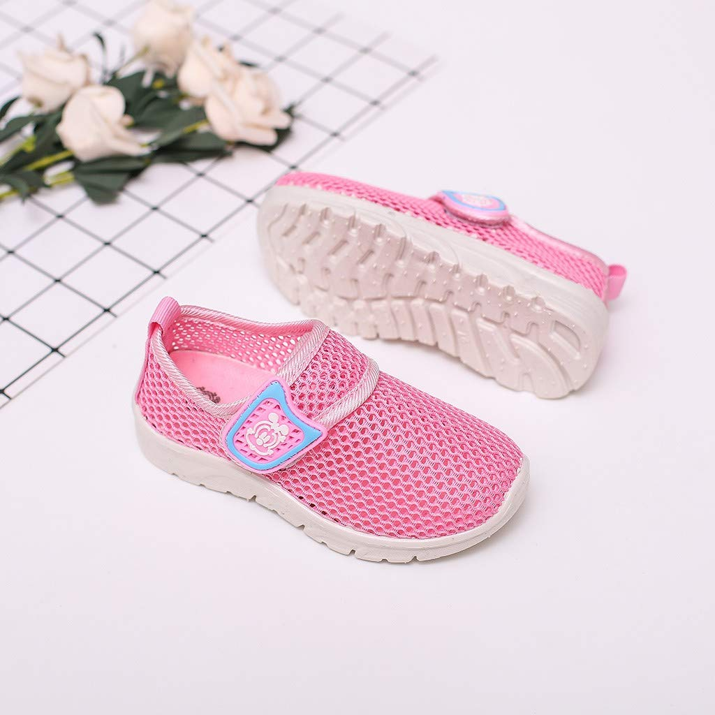 Baby Sneakers FAPIZI Summer Toddler Kids Sport Run Baby Shoes Boys Girls Cartoon Mesh Breathable Shoes