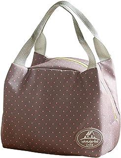 Kinder M/ädchen kanggest Lunch Bag Mode Handtasche Mittagessen Tasche Wasserdichte K/ühltasche Isoliert Lunch-Taschen Reise Picknicktasche f/ür Erwachsene Frauen