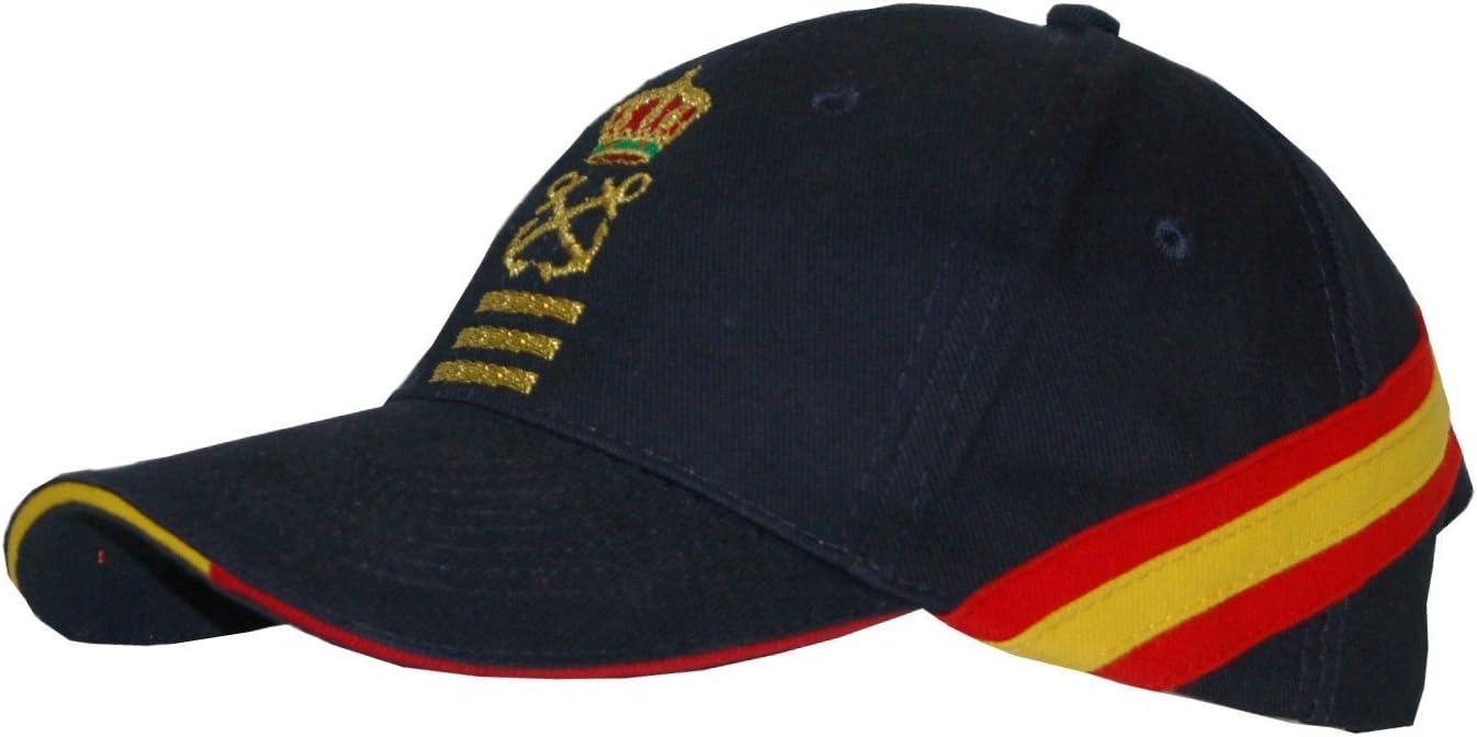 Gorra Bandera de España Capitán de Yate (CY) + 2 Antivientos ...