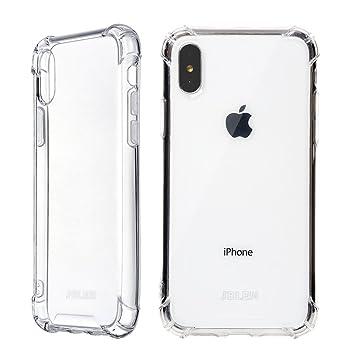 ce705eb694 iphone x ケース クリア ストラップ 耐衝撃 Qi 充電 対応 落下防止 tpu 透明 アイフォン x