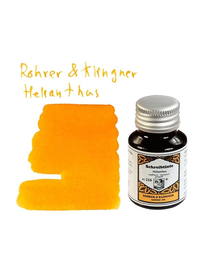Rohrer & Klingner *dal 1892* flacone inchiostro - Girasole - 50ml 40210