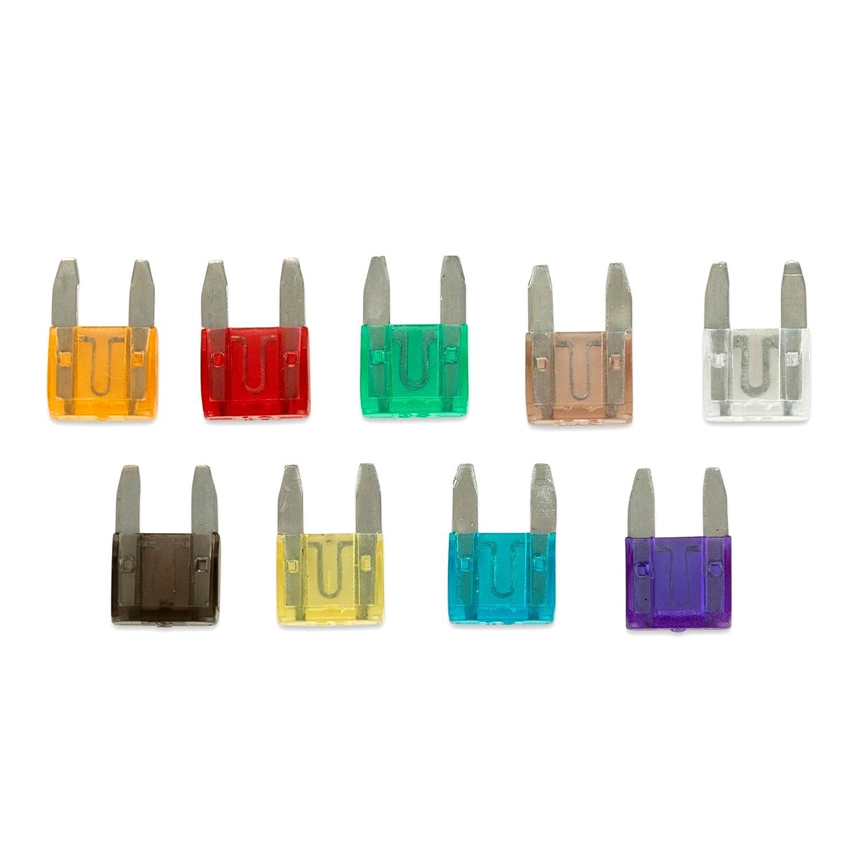 Mini Car Fuse Assortment Kit Small 150 Piece Ruddman Supplies