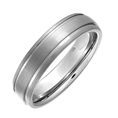 Theia Cobalt Court Shape Highly Polished Wedding Ring for Men or Women zgSC6F