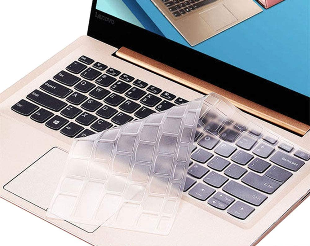 Clear Keyboard Cover Protective Skin Compatible with 13.9 inch Lenovo Yoga 920 C930, Yoga 6 Pro, Lenovo Yoga 720 13.3/12.5 inch, Lenovo Yoga 730 15.6 inch, Lenovo Yoga 730 13.3 inch
