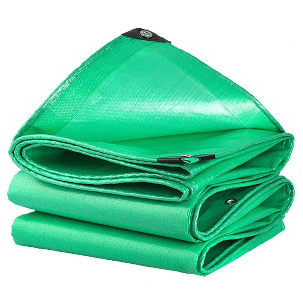 Liul Teli Impermeabili su Entrambi I Lati Resistente all'Usura Capannone Impermeabile A Prova di Vento verde, 18 Taglie,verde-2.8  2.8m