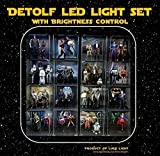 LED light Kit for Ikea Detolf - Bright White Tone