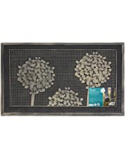 Save on JVL Havana Heavy Duty Welcome Rubber Pin Door Mat, Trees, 45 x 75 cm and more