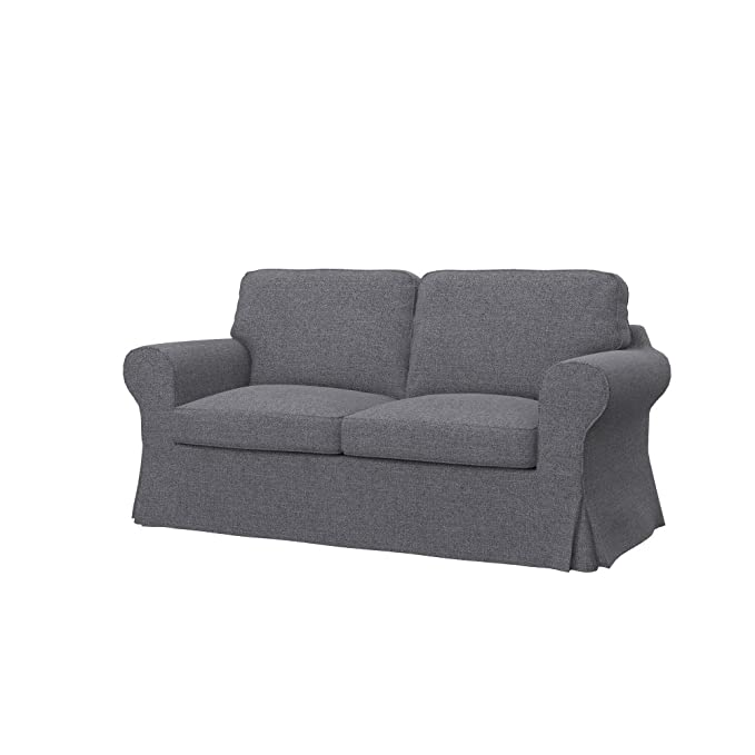Amazon.com: Soferia Replacement Cover for IKEA EKTORP 2-seat ...