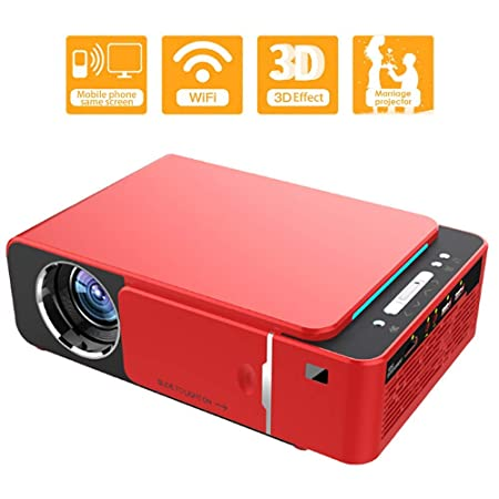 siberiantiger Proyector Cine En Casa WiFi Android,Proyector Led ...
