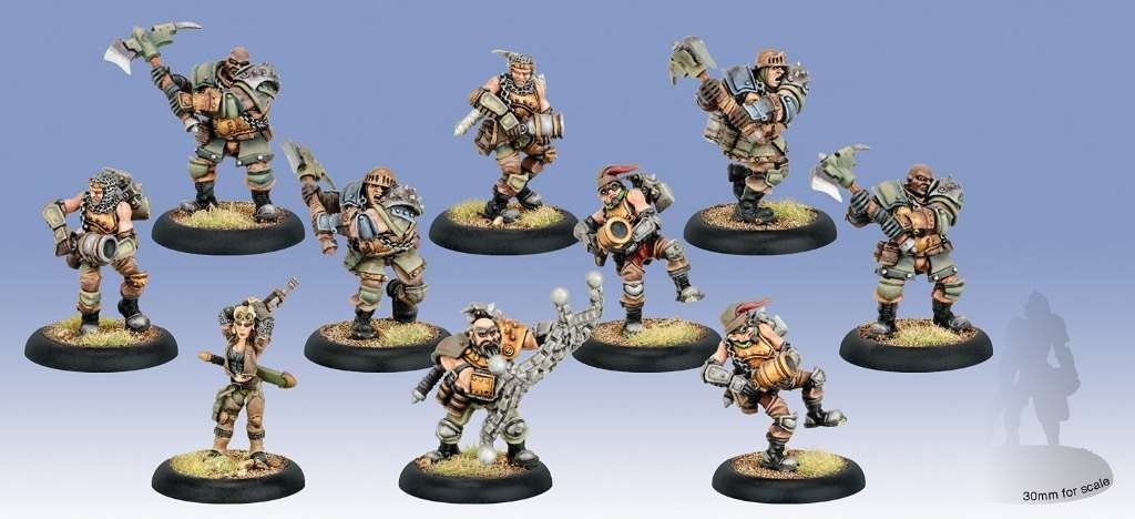 Mercenary Capt. Sam MacHorne and Devil Dogs (10)