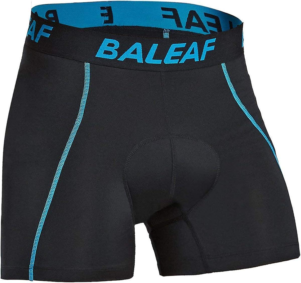 BALEAF Men's Padded Bike Shorts