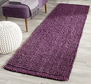 "Safavieh Natural Fiber Collection NF447B Hand Woven Purple Jute Runner (2'6"" x 6') (B00ONZL78W) 