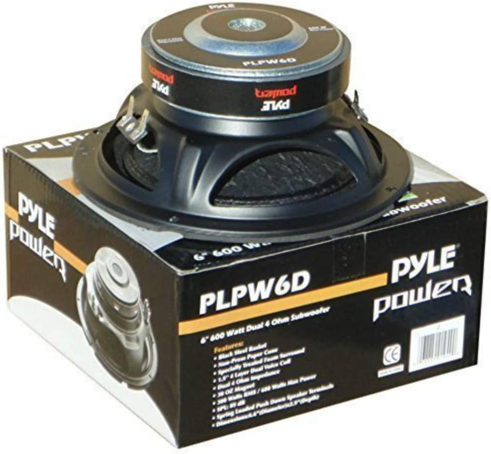 300 Watt Rms E 600 Watt Max Subwoofer Woofer Pyle Elektronik