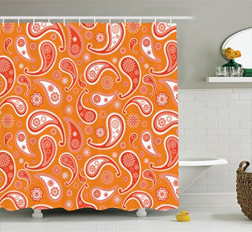 Ambesonne Collection Oriental Decorative Polyester