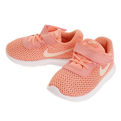 NIKE Toddler Girls Tanjun Fashion Shoe, LT Atomic PinkCrimson Tint-White,