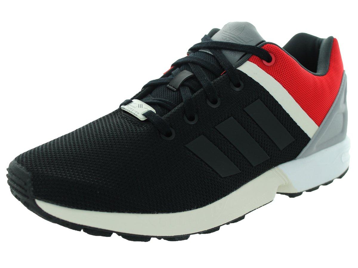 adidas Men's ZX Flux Split Running Shoe B017C8SAYA 8.5 D(M) US Cblack/Cblack/Scarle