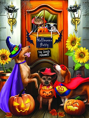 The Halloween Party Pet Costume  300 Piece Jigsaw Puzzle by SunsOut