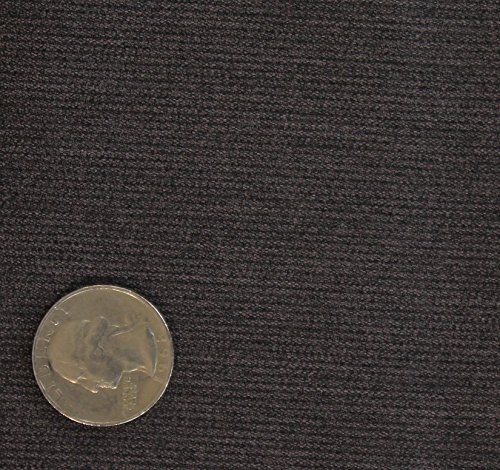 (3 Yards Bolt of Stretch 21 wale Corduroy Suitig Fabric_CHARCOAL)