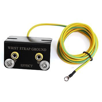 1,8 M Langes Kabel L Shaped Anti-Erdarmband Langes Erdungskabel ...