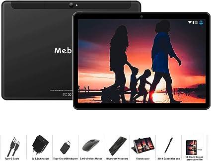 MEBERRY Tablet 10 Pulgadas Android 9 Pie Ultrar-Rápido Tablets 4GB ...