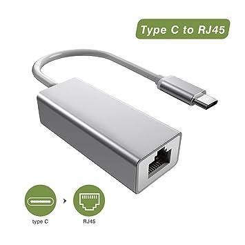 Flyland USB C zu LAN Ethernet Adapter USB 3.1 Typ C zu: Amazon.de ...