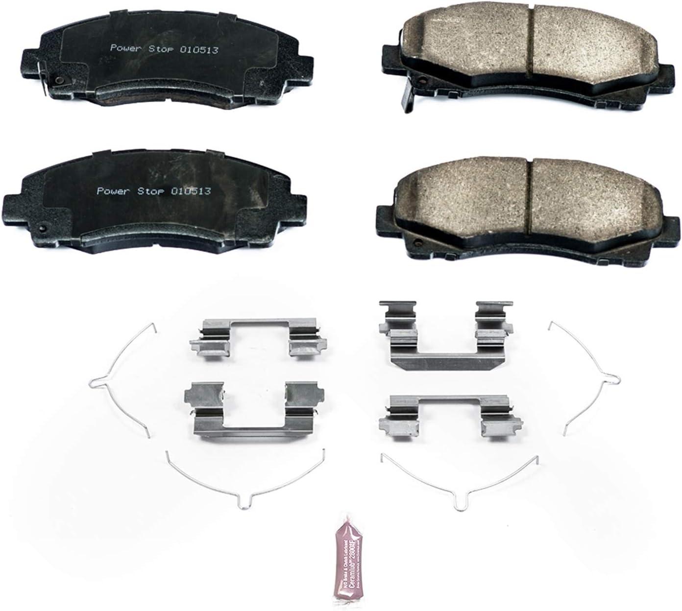 Powerstop Brake Pad Sets 2-Wheel Set Front Driver /& Passenger Side New Z23-1586