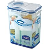 Lock and Lock Rectangular Storage Container with Flip Top Lid, 1.8 L