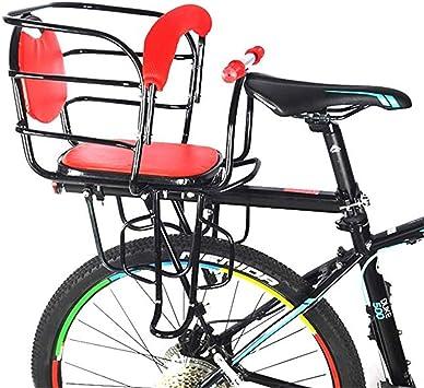 Asiento de niño de Bicicleta Trasera portátil, Thicken Bicicleta ...