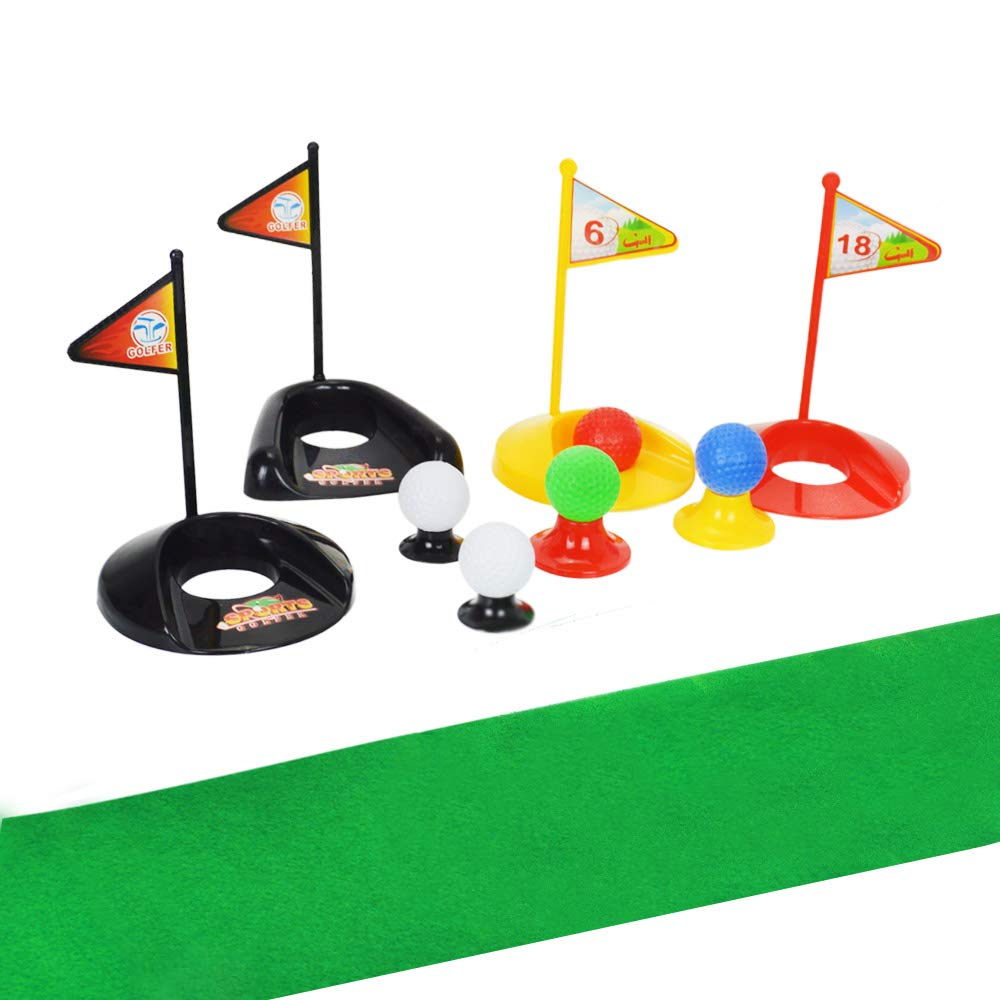 Big Size ! Popular Sport Play Toys Kids' Golf Accessories Kits Sets for Kids Toddler Children Golf Clubs Set Plastic Sprots Toys (24 Pcs) by SOWOFA (Image #2)