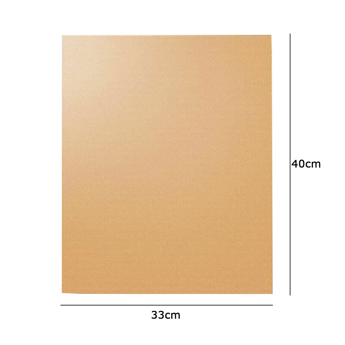 2Pcs Kitchen Chef Grill and Bake Mats Outdoor BBQ Barbecue Grills Mat Color Copper