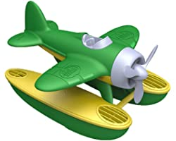 Green Toys Seaplane in Green Color - BPA Free, Phthalate Free Floatplane for Improving Pincers Grip. Toys and Games ,9 x 9.5