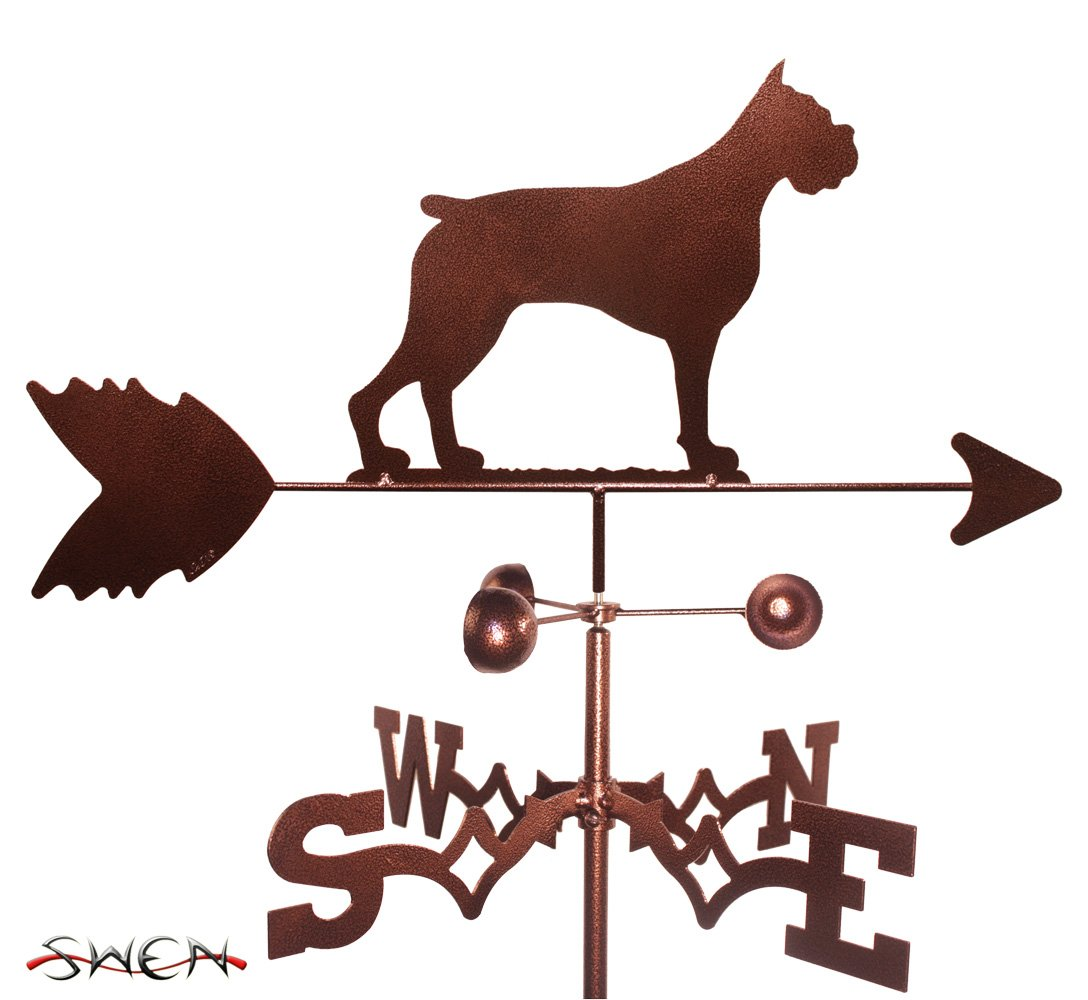 BOXER Dog Weathervane SWEN Products