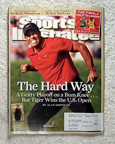 Tiger Woods - 2008 U.S. Open Champion - Sports Illustrated - June 23, 2008 - Golf - Torey Pines, La Jolla, CA - - La Jolla Shops Gift