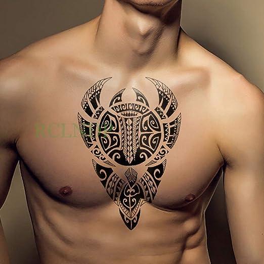 Yyoutop Pegatina e Tatuaje a Prueba de Agua león Rey Tatuajes ...