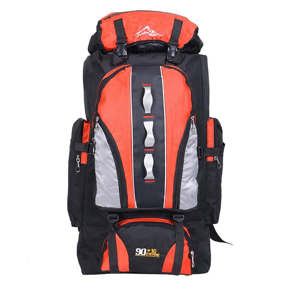登山 リュックバッバックパックアウトドア登山リュックサックスポーツ登山バッグトレッキング大容量登山ハイキングバックパック12847  Orange B07P9DVTC4