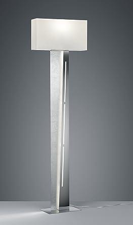 475210289 Nestor LED plateado gris/blanco Lámpara de pie ...
