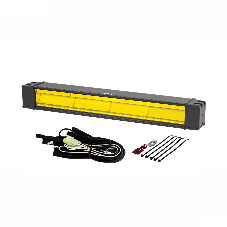 PIAA 22-07218 RF Series Yellow 18 SAE Compliant Fog Beam LED Light Bar Kit