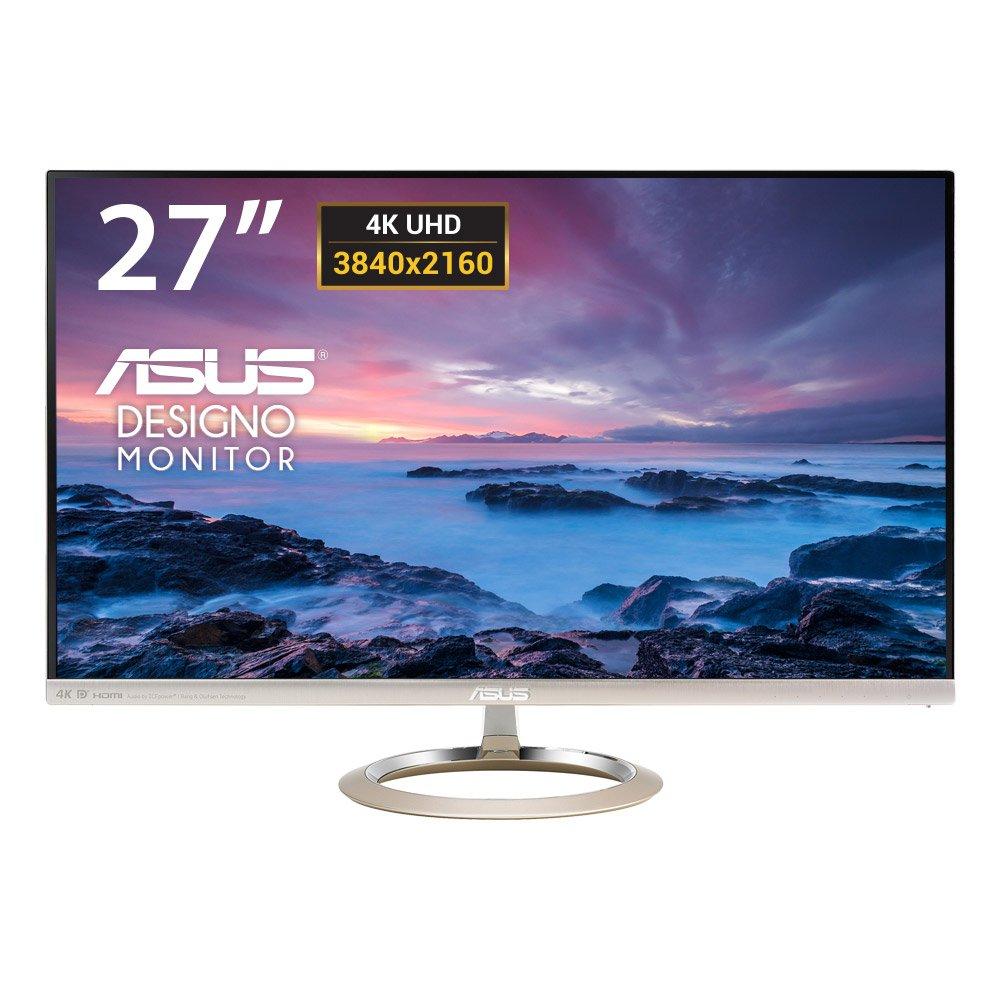 Asus MX259H - Monitor LED de 25' (Full HD, 1920x1080, HDMI x2, IPS, sonido Bang & Olufsen, sin marco, luz azul reducida), plateado