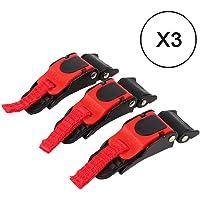 VRacingPRO - 3 ganchos para cierre de casco