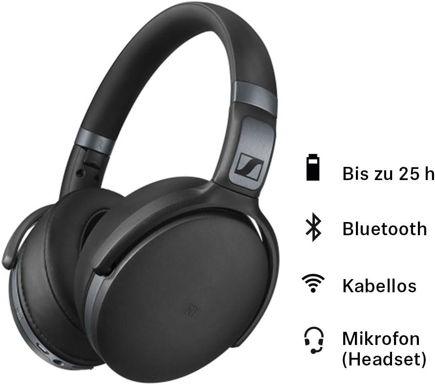 Sennheiser Hd 4 40 Bt Kopfhörer Mattschwarz Elektronik