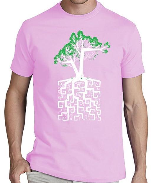 latostadora Camiseta raíz Cuadrada - Camiseta Hombre clásica, Rosa Talla XL: c0y0te7: Amazon.es: Ropa y accesorios
