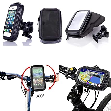 outlet store e10f4 eb84b Cellphonez® Waterproof Smartphone Mobile Phone Holder Stand Bike Bicycle  Motorcycle GPS.