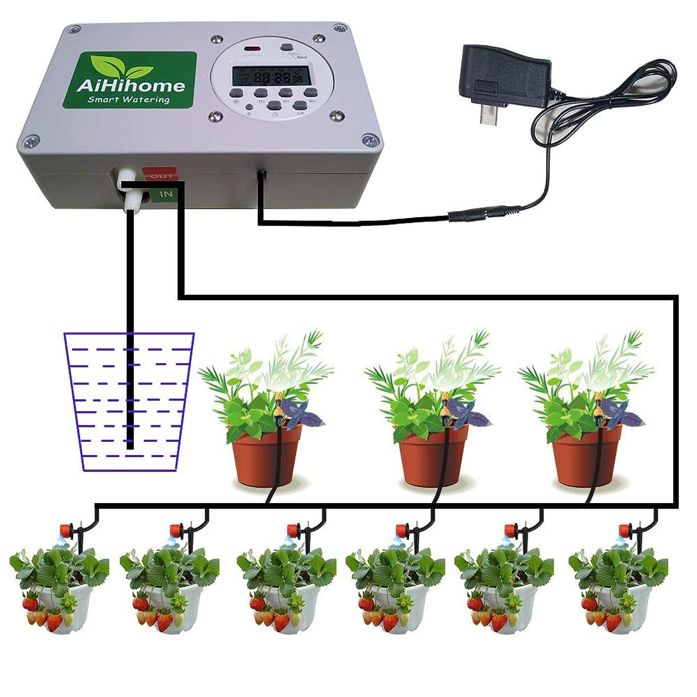 分析する発掘する無セフティー3 自動水やり器 電池式タイマー 芝生?鉢植え?畑用 SAW-1