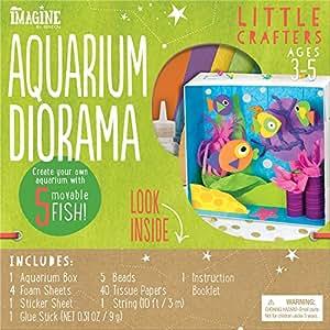 Imagine by Bendon Little Crafters Aquarium Diorama Craft Kit (53744)