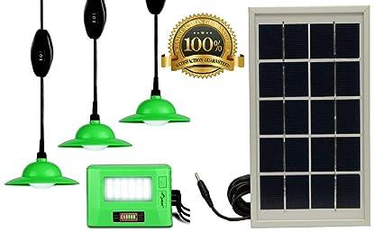 i-Solarlite® Solar Home Lighting System | Solar Light Kit with 2 USB  Charging Slot HLS Basics | Indoor Outdoor LED Light
