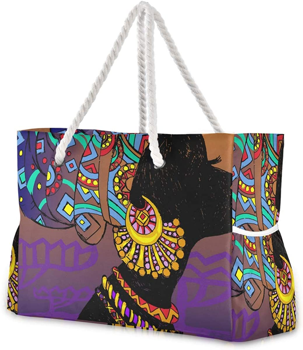 Shoulder bag Rope Handle holiday tote-bag-floral Print-zip top SPECIAL OFFER