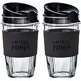 Nutri Ninja Cups with Sip & Seal Lids (2 x 500ml)