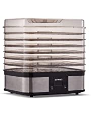5/7 Trays Food Dehydrator Commercial Fruit Dryer Drying Beef Jerky Maker Stainless Steel